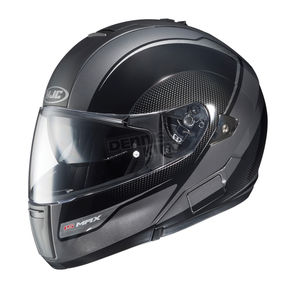 HJC Black/Charcoal Sprint IS-MAX BT Modular Helmet - 968-956