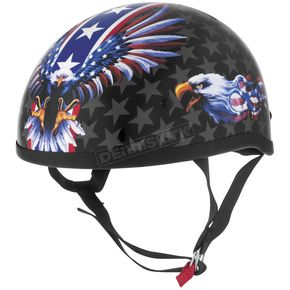 USA Flame Eagle Original Half Helmet