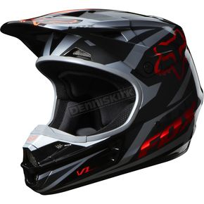 Fox Orange V1 Race Helmet - 07129-009-L