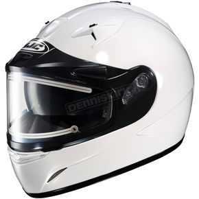 HJC White IS-16SN Helmet w/Electric Shield - 081-146