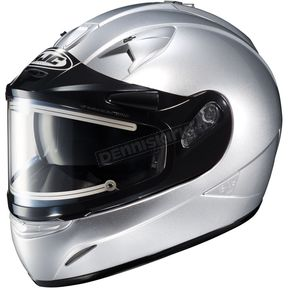 HJC Metallic Silver IS-16SN Helmet w/Electric Shield - 081-576