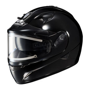 HJC Black IS-16SN Helmet w/Electric Shield - 081-606