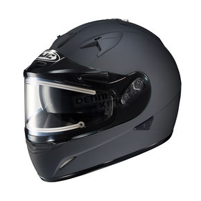 HJC Matte Black IS-16SN Helmet w/Electric Shield - 081-616