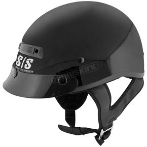 Speed and Strength Gloss Black Solid Speed SS300 Helmet - 87-7200