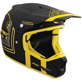 MSR Racing Black/Yellow Scout Mav-1 Helmet - 359341
