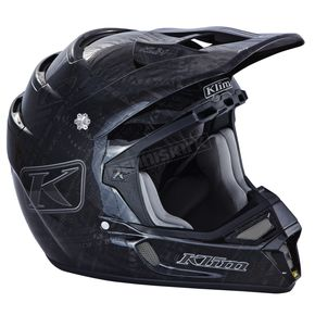Klim Stealth Black F4 ECE Certified Helmet (Non-Current) - 5106-001-140-002