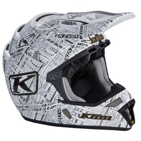 Klim Stealth White F4 ECE Certified Helmet (Non-Current) - 5106-001-140-003