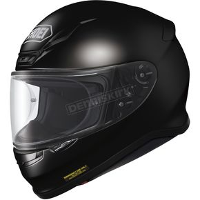 Shoei Helmets Black RF-1200 Helmet - 0109-0105-06