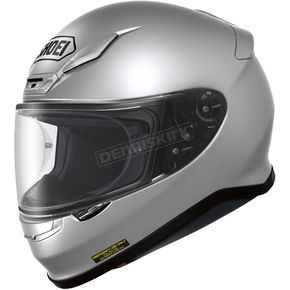 Shoei Helmets Light Silver RF-1200 Helmet - 0109-0107-06