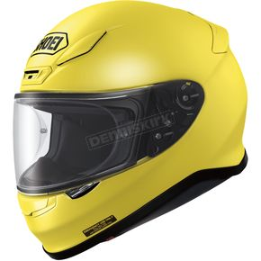Shoei Helmets Brilliant Yellow RF-1200 Helmet - 0109-0123-07