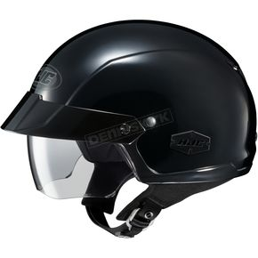 Black IS-Cruiser Half Helmet