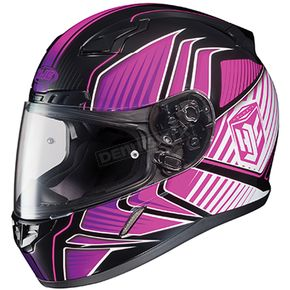 HJC Black/Pink/White MC-8 CL-17 Redline Helmet - 0851-1108-04