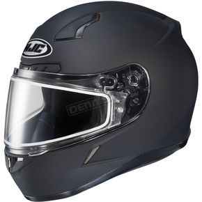 HJC Matte Black CL-17SN Helmet w/Frameless Dual Lens Shield - 57-18988