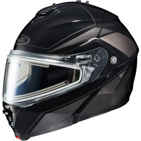 HJC Black/Dark Silver/Silver IS-MAX 2 MC-5 Elemental Helmet w/Electric Shield - 58-23459