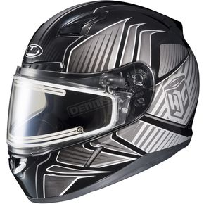 HJC Black/Gray/Silver CL-17SN MC-5 Redline Helmet w/Frameless Electric Shield - 1251-1105-03