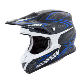 Scorpion Black/Blue VX-R70 Blur Helmet - 70-5026