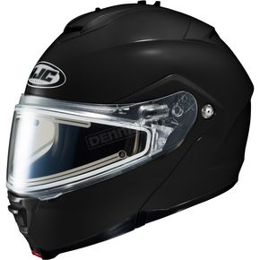 HJC Black IS-Max 2 Snowmobile Helmet w/Electric Shield - 58-23509X