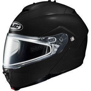 HJC Black IS-Max 2 Snowmobile Helmet w/Dual Lens Shield - 58-13501