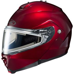 HJC Wineberry IS-Max 2 Snowmobile Helmet w/Electric Shield - 181-262