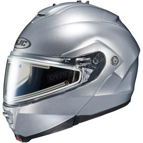 HJC Silver IS-Max 2 Snowmobile Helmet w/Electric Shield - 181-572