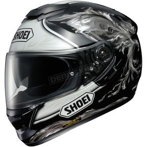 Shoei Helmets Black/Gray GT-Air Revive TC-5 Helmet - 0118-1505-06