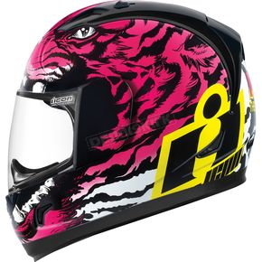 Icon Pink/Black Alliance Berserker Helmet - 0101-7806