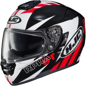 HJC Red/Black/White RPHA ST MC-1 Rugal Helmet - 1604-916