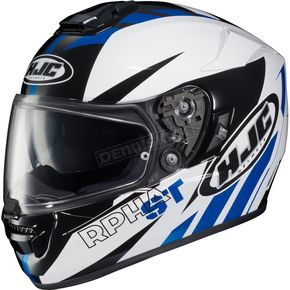 HJC Blue/White/Black RPHA ST MC-2 Rugal Helmet - 1604-923