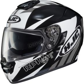 HJC Black/White/Gray RPHA ST MC-5 Rugal Helmet - 1604-954