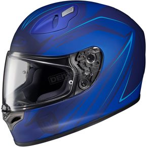 HJC Blue FG-17 MC-2F Thrust Helmet - 58-8728