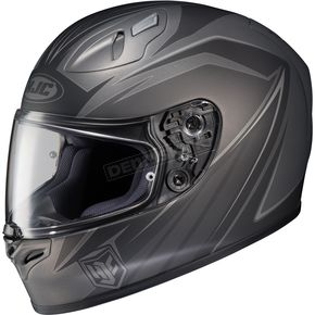 HJC Black/Gray FG-17 MC-5F Thrust Helmet - 58-8759