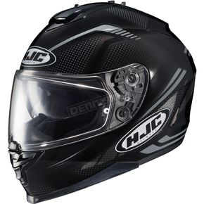 HJC Black/Gray IS-17 MC-5N Spark Helmet - 58-4952