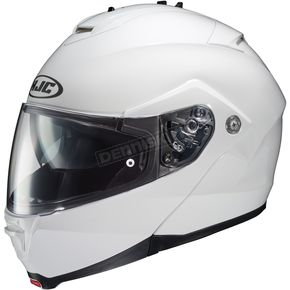 HJC White IS-MAX II Modular Helmet - 58-3522