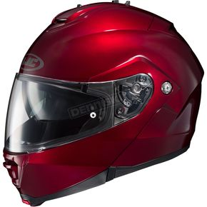 HJC Metallic Wine IS-MAX II Modular Helmet - 58-3542