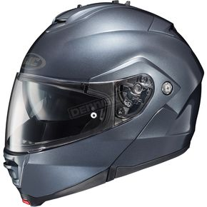 HJC Metallic Anthracite IS-MAX II Modular Helmet - 58-3598