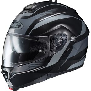 HJC Black/Gray IS-MAX II MC-5F Style Modular Helmet - 986-956