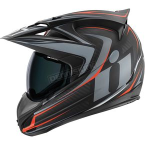 Icon Black/Gray Variant Raiden Helmet - 0101-7818