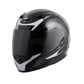 Scorpion Black/Silver EXO-R710 Focus Helmet - 71-2045