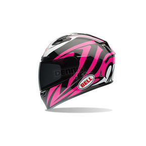 Bell Helmets Black/Pink/White Qualifier DLX Impulse Helmet - 7061871