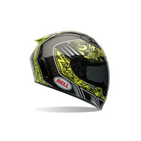 Bell Helmets Carbon/Gloss Black Star Carbon Tagger Designs Tagger Trouble Helmet - 7061591