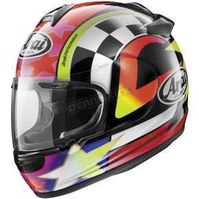 Arai Helmets Black/White/Red/Yellow Vector-2 Schwantz 95 Helmet - 818331
