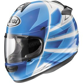 Arai Helmets Blue/White/Black Vector-2 Hawk Helmet - 814431