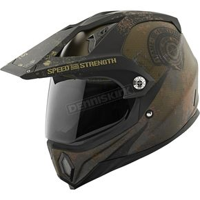 Speed and Strength Military Green/Black Fame & Fortune SS2500 Helmet - 87-8746