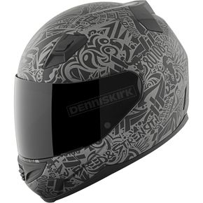 Speed and Strength Grey/Black United By Speed SS1200 Helmet - 87-8805