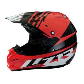Z1R Black/Red Roost SE Helmet - 0110-4191