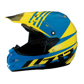Z1R Black/Yellow/Blue Roost SE Helmet - 0110-4200