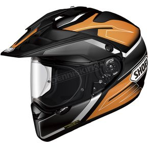 Shoei Helmets Orange/Black/White Hornet X2 Seeker TC-8 Helmet - 0124-1108-03