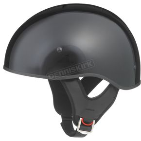GMax Black GM65 Naked Half Helmet - 72-5630XS