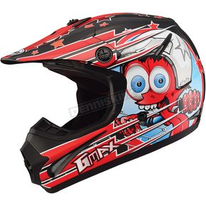 GMax Youth Black/Red GM46.2 Superstar Helmet - 72-6692YM