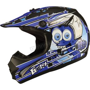 GMax Youth Black/Blue GM46.2 Superstar Helmet - 72-6693YM